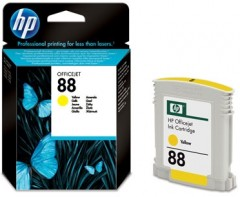 HP C9388AE (88) K550/5400/8600/L7480 SARI KARTUŞ ORJİNAL 860 SYF