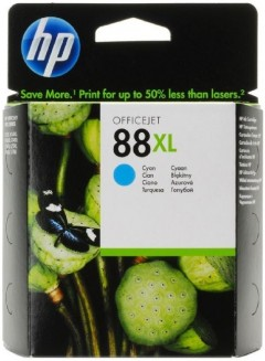HP C9391A (88XL) K5400/550/8600/L7480 MAVİ KARTUŞ ORJ 1.700 SYF