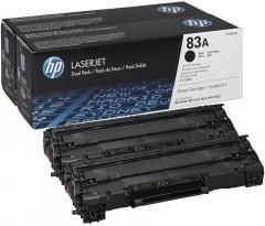 HP CF283AD (83A) M125/M127/M201/M225 2Lİ SİYAH TONER ORJ 1.5K SYF