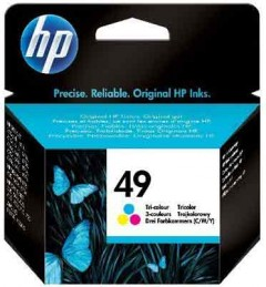 HP 51649A (49) 350/600/610/640C RENKLİ KARTUŞ ORJİNAL 310 SAYFA