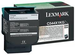 LEXMARK C544X1KG C-X 544/546/548 SİYAH TONER ORJİNAL 6.000 SAYFA