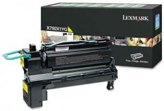 LEXMARK X792X1YG X792 SARI TONER ORJİNAL 20.000 SAYFA