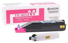 KYOCERA TK-865M TASKALFA 250/300ci KIRIMIZI TONER ORJİNAL 12K SYF