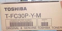 TOSHIBA T-FC30P-Y-M 2050C/2051C/2550C SARI TONER ORJİNAL 33,6K