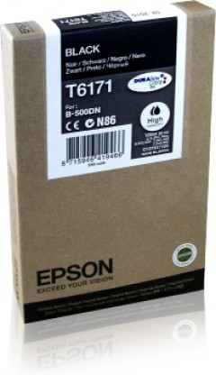 EPSON C13T617100 B500/510DN SİYAH KARTUŞ ORJİNAL 4.000 SAYFA