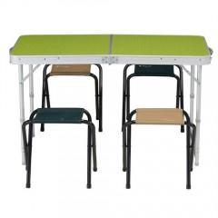 Piknik Masası 4/6 Kişilik Katlanır Taşınabilir Masa-1