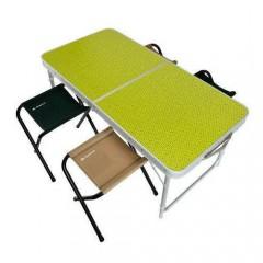 Piknik Masası 4/6 Kişilik Katlanır Taşınabilir Masa-2