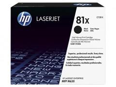 HP CF281X (81X)M604/605/606/630 SİYAH TONER ORJİNAL 25.000 SAYFA