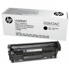 HP Q2612AC (12A) 1010/1018/3050/1319 SİYAH TONER ORJİNAL 2.000 SY