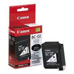 CANON BC-02 BJC-100/200/240/1000 SİYAH KARTUŞ ORJİNAL 500 SAYFA