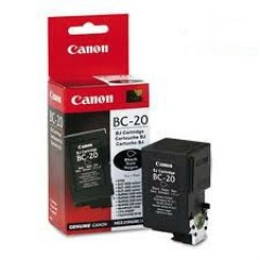CANON BC-20 BJC-2000/2100/4000/4400 SİYAH KARTUŞ ORJİNAL 200 SYF