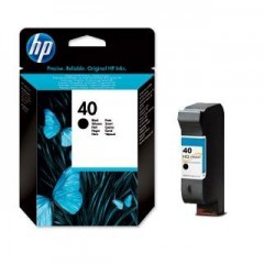 HP 51640 (40) DESKJET 1200C SİYAH KARTUŞ ORJİNAL 1.120 SAYFA