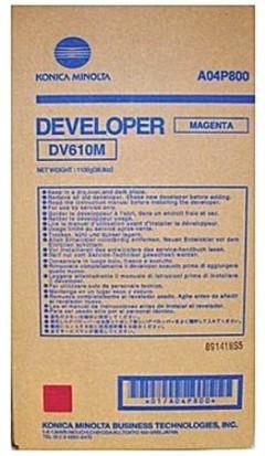 MINOLTA DV-610M C5501-6501-6500-7000 KIRMIZI DEVELOPER ORJ. 200K