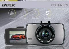 Everest DVR-013 90 Lens 2.4 HD TFT LCD Ekran Araç İçi Kamera