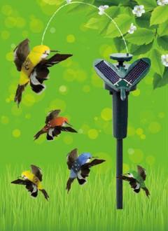 Güneş Enerjili Uçan Kuş ,Solar Enerjili Dekoratif Kuş Toptan  ve Perakende