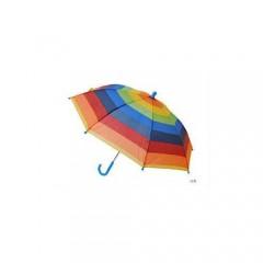Çocuk Gökkuşağı Şemsiye, Çocuk Boy 23 Nisan Gösteri Şemsiyesi Toptan Perake-3