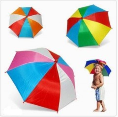 Şapka Şemsiye,Kafaya Takılan Şemsiye Kafa Şemsiyesi Toptan Perakende