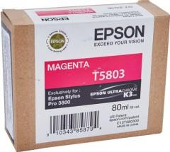 EPSON C13T580300 STYLUS PRO 3800 KIRMIZI KARTUŞ ORJİNAL
