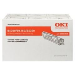 OKI 9004078 B6200/6250/6300 SİYAH TONER ORJİNAL 10.000 SAYFA