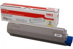OKI 44059117 C810/C830 SARI TONER ORJİNAL 8.000 SAYFA