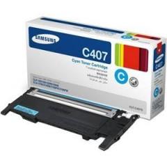 SAMSUNG CLT-C407S CLP-325/320/3185 MAVİ TONER ORJİNAL 1.000 SAYFA