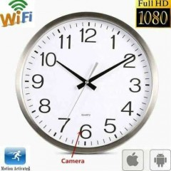 Duvar Saati Şeklinde Wifi Kumandalı Sınırsız İzleme 1080p Hd Kamera