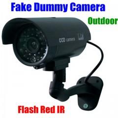 Gece Görüşlü Sahte Güvenlik Kamerası