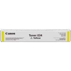 CANON EXV-034Y IR-C1225/MF810/820 SARI TONER ORJİNAL 7.300 SAYFA