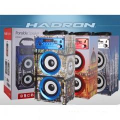 Karaoke Bluetooth Şarjlı Speaker Stereo Hoparlör
