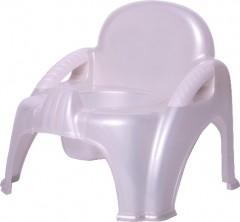 Sevi Bebe Sandalye Lazımlık  Beyaz