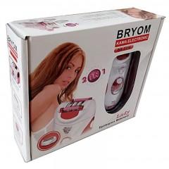 Bryom BR-2118 Şarjlı Epilasyon Aleti