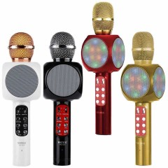 Wster Ws-1816 Led Işıklı Karaoke Mikrofon
