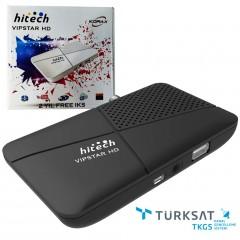 Korax Hitech VipStar HD Mini Çanaksız Uydu Alıcısı (2 YIL IP TV HEDİYELİ)