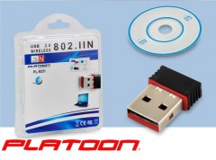 Platoon PL-9331 USB Mini Wireless Alıcı Adaptör