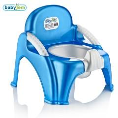 Babyjem Afacan Lazımlık Mavi-0