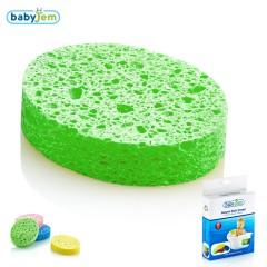 Babyjem Banyo Süngeri Selülozik Yeşil
