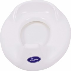 Sevi Bebe Plastik Klozet Adaptörü Beyaz