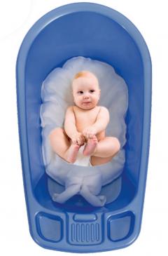 Sevi Bebe Çok Fonksiyonlu Bebek Yıkama File&Minderi Pembe-1