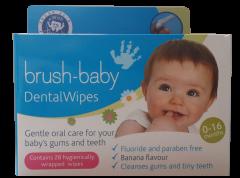 Friendly Organic Brush Baby Diş Temizleme Mendili 28'li