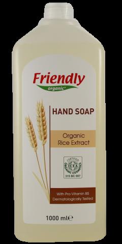 Friendly Organic Sıvı El Sabunu Pirinç 1 L