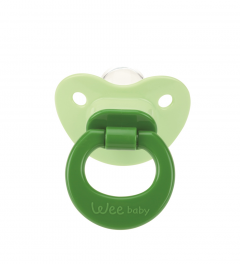 Wee Baby 841 Damaklı Emzik 0-6 Ay - Yeşil