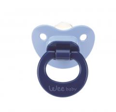 Wee Baby 819 Damaklı Emzik 6-18 Ay - Mavi
