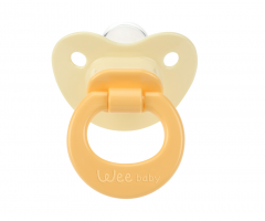 Wee Baby 819 Damaklı Emzik 6-18 Ay - Sarı