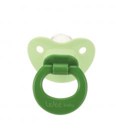 Wee Baby 819 Damaklı Emzik 6-18 Ay - Yeşil