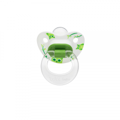 Wee Baby 833 Desenli Damaklı Emzik 0-6Ay - Yeşil