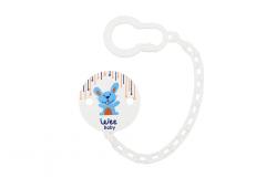 Wee Baby 901 Desenli Emzik Askısı - Tavşan