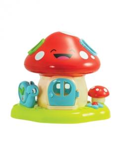 Prego Toys WD 3636 Mushroom Bricks Cabin