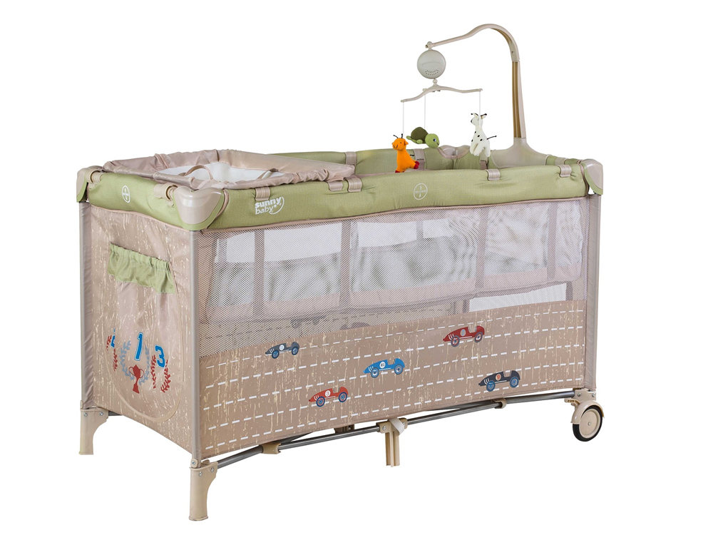 Sunny Baby 624 Siesta Oyun Parkı - Yeşil