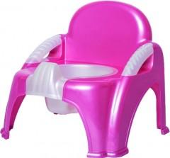 Sevi Bebe Sandalye Lazımlık  Pembe