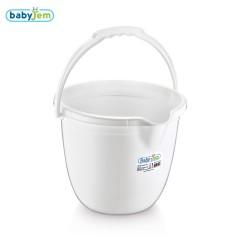 Babyjem Bebek Banyo Kovası Beyaz-0